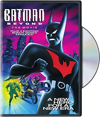 Batman Beyond The Movie Dvd Region 1 Us Import Ntsc Amazon Co Uk Dvd Blu Ray