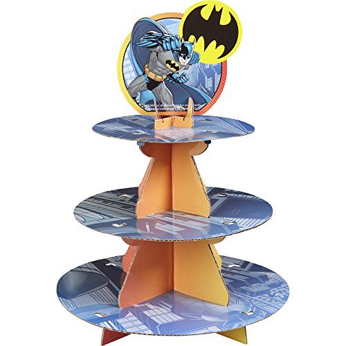 Wilton 1512-5140 Batman Treat Stand, Multicolor