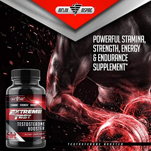Test Boost Advanced Dietary Supplement - Male Enhancement Formula - Powerful Stamina, Strength, Energy & Endurance Supplement - Supports Healthy Test Training & Natural T Levels - 60 Capsules 6