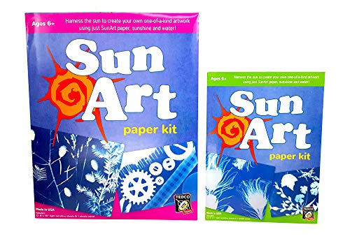 Sun Art Paper, 8 x 12 and 5 x 7 Sheets (2 Kits)]()
