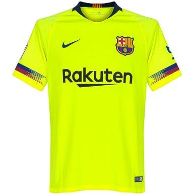 e4e128938 NIKE 2018-2019 Barcelona Away Football Soccer T-Shirt Jersey (Kids)