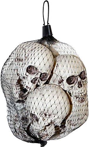 Small Plastic Skulls Moveable Halloween product image