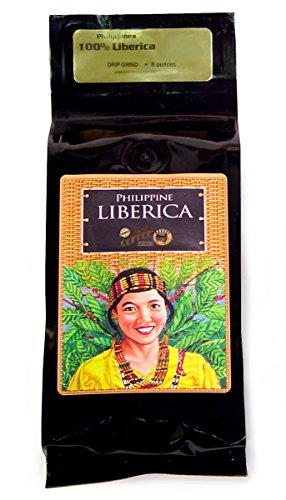 Philippine Liberica Ground Coffee, 8 Ounce
