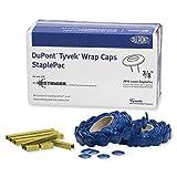 DuPont Tyvek Wrap Caps StaplePac - 3/8'' - Box of 2016