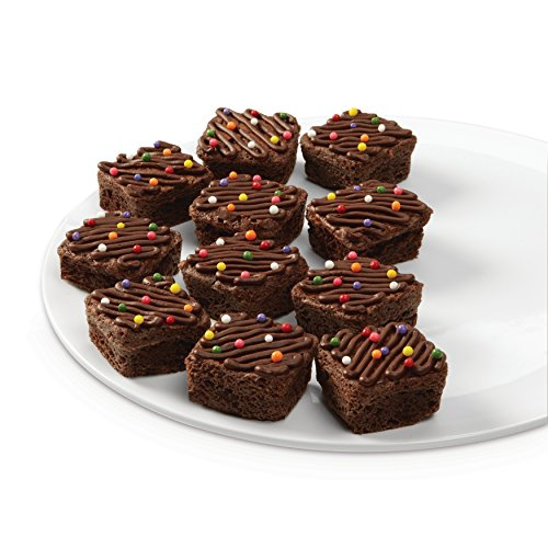 Wilton Bite-Size Brownie Square Silicone Mold, 24-Cavity by Wilton (Image #5)