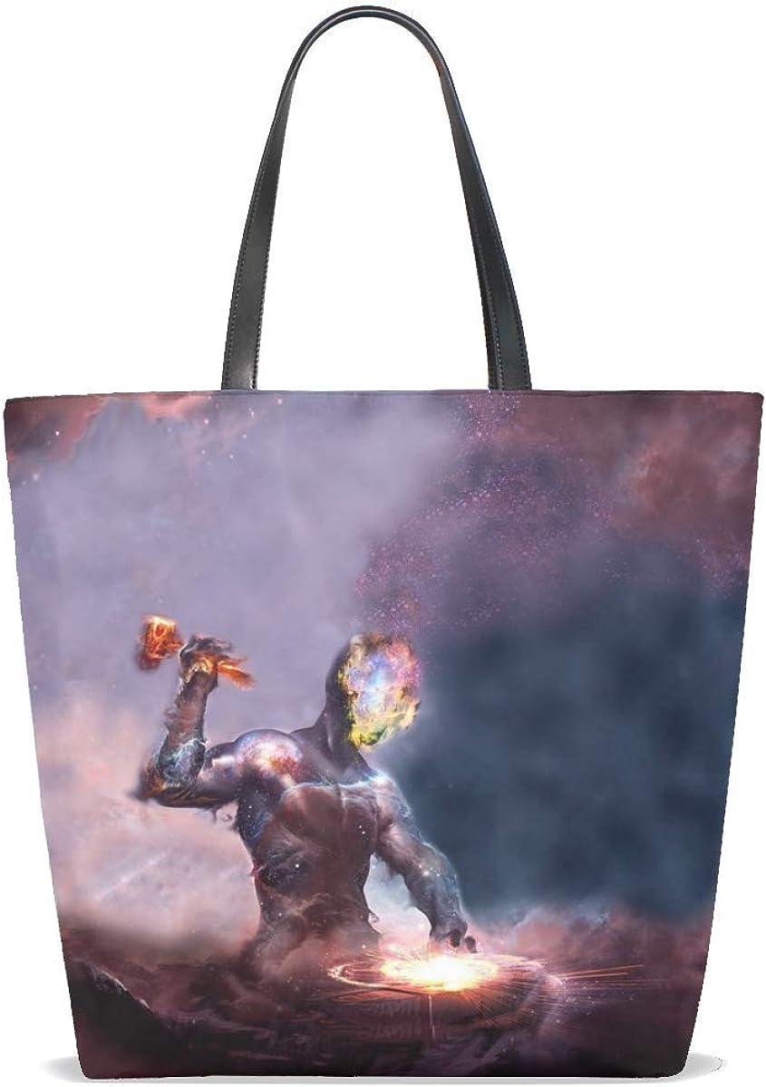 Universe Space Nebula Galaxy Tote Bag Purse Handbag For Women Girls