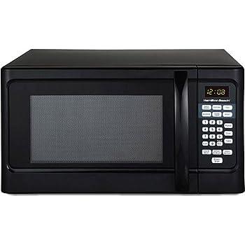 amazon com hamilton beach 1000 watt microwave with child lock rh amazon com hamilton beach microwave manual pdf hamilton beach microwave manual em03mzc-x1