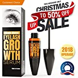 Eyelash Growth Serum - Lash Boost Enhancer For Longer Lashes And Eyebrows - Fast Results In 10 Days