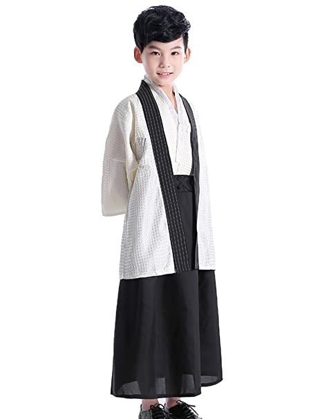 lemail peluca japonesa tradicional Formal Hombres kimonos Cardigan Samurai para hombre
