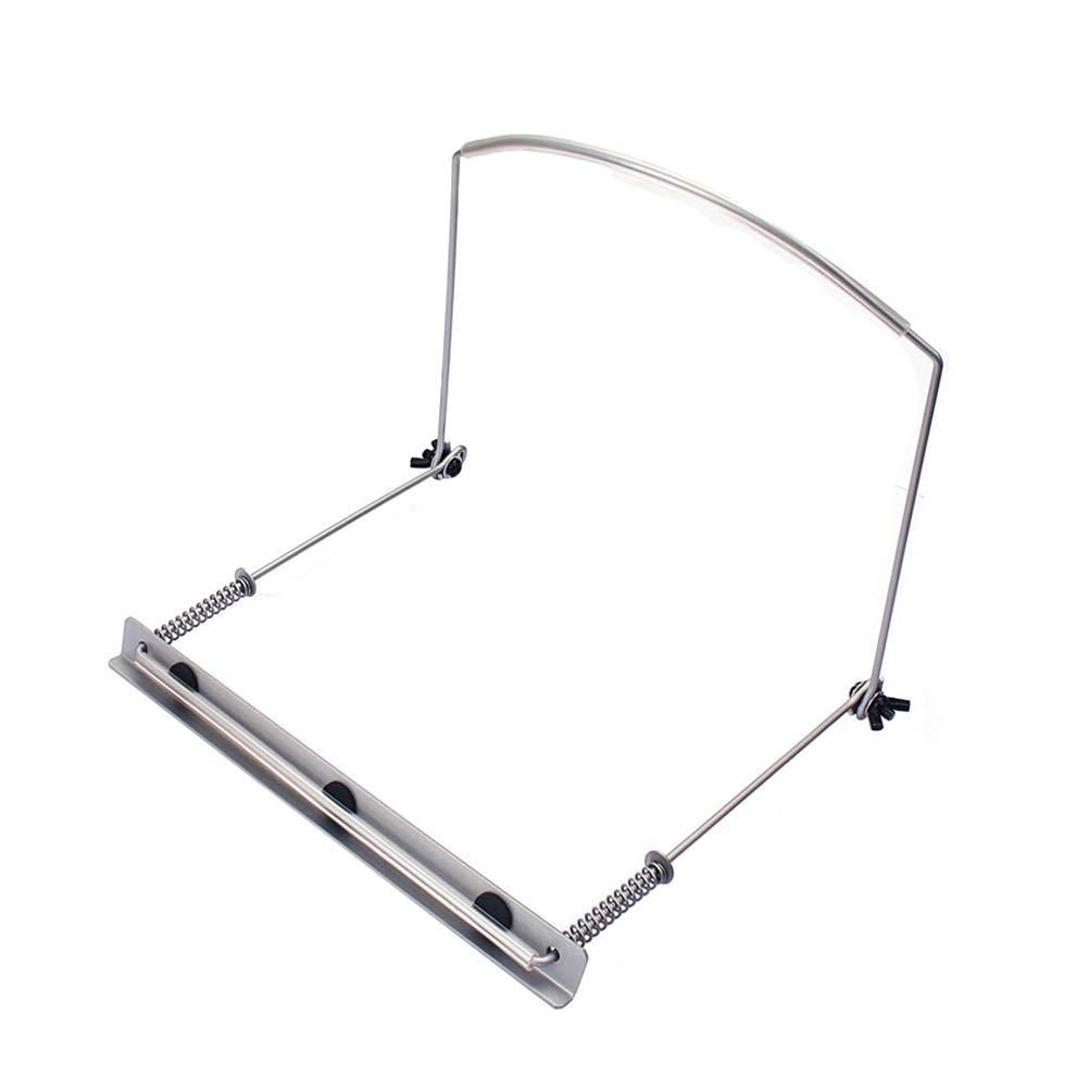 plata HEALLILY Arm/ónica porta 24 agujeros arm/ónica cuello soporte metal