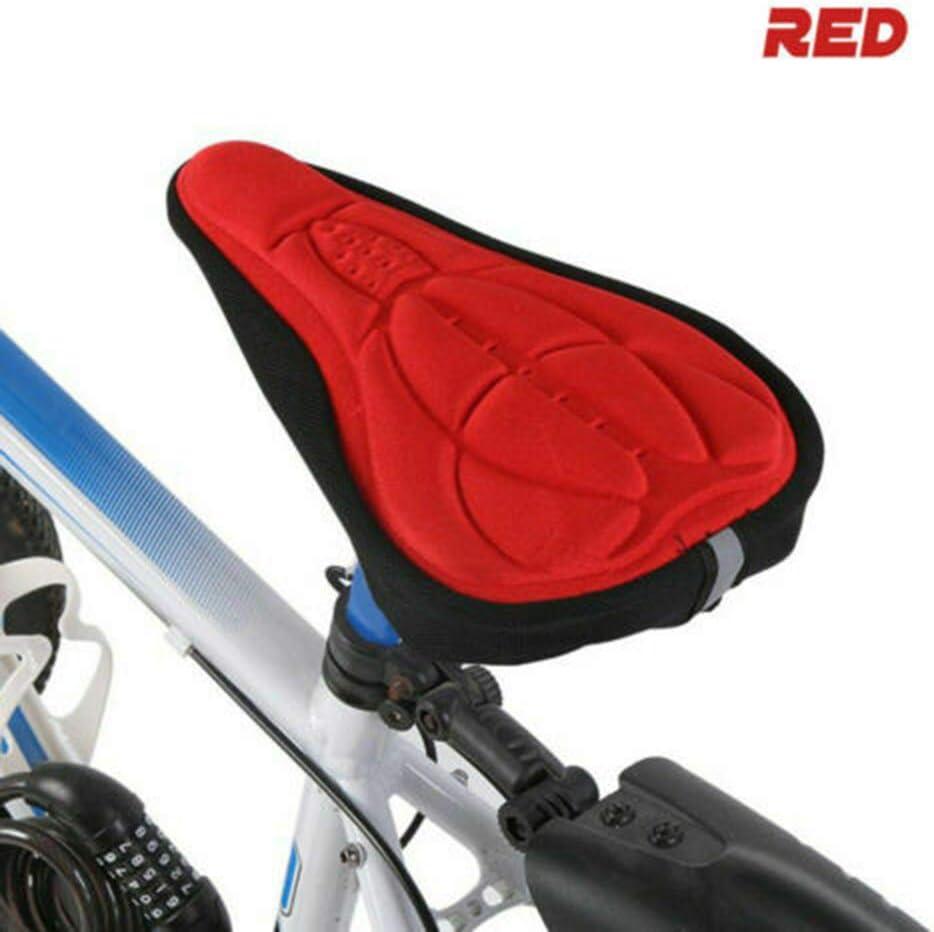 Funda para sill/ín de bicicleta para interior y ciclismo gel suave Sunwan