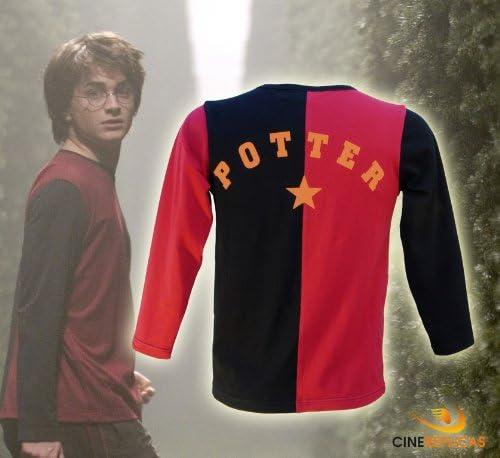 Cinereplicas Harry Potter – Camiseta – Torneo de los tres brujas y Quidditch – Oficial