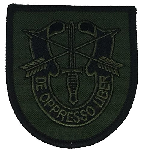 UNITED STATES ARMY SPECIAL FORCES Patch - OD Green/Black - Veteran Owned Business.