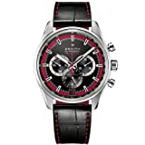 Zenith El Primero 36000 VPH Black Dial Black Leather Mens Watch 03.2043.400/25.C703