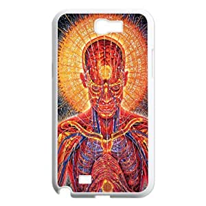 Psychedelic Anatomy Artistic2 07 Samsung Galaxy N2 7100 Cell Phone Case White present pp001_9755586