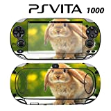 Decorative Video Game Skin Decal Cover Sticker for Sony PlayStation PS Vita (PCH-1000) - Cute Rabbit Bunny