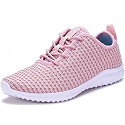 Women's Fashion Sneakers Casual Sport Shoes Pink-8