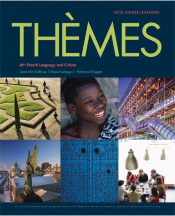Thèmes AP® French Language and Culture Student Edition with Supersite Plus Code (ebook)