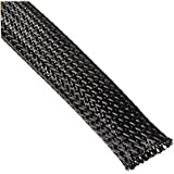 amazon com black 1 4 100ft braided expandable flex sleeve wiring wang data pet black braided cable sleeve 1 2 inch x 100ft 1