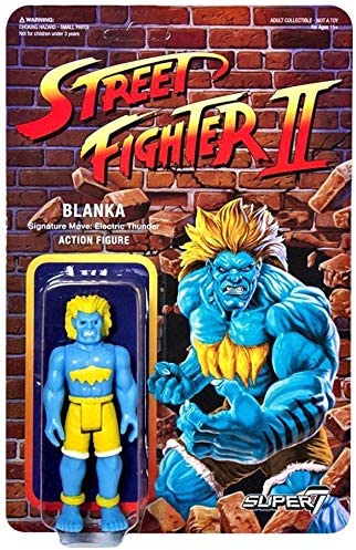 Amazon Com Super7 Reaction Street Fighter Ii Championship