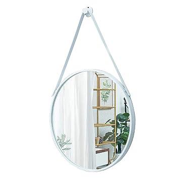 Miroirs Cadre De Fer De Placage De De Vanite Fixe Au Mur