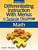 Differentiating Instruction with Menus for the Inclusive Classroom, Sourcebooks Staff and Prufrock Press Inc. Staff, 1593638868