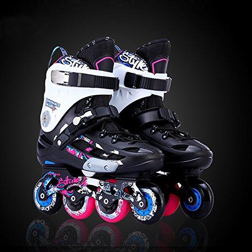 ぼろ親愛なディーラーOptimal レディース メンズ インラインスケート スタイリッシュ ローラーブレード セーフ インライン ローラースケート 大人 ユース用