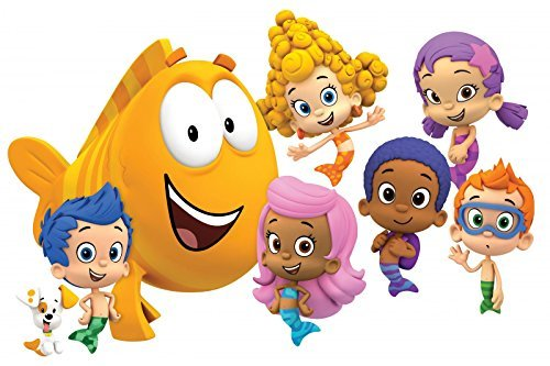 Bubble Guppies Edible Cake Topper Frosting 1/4 Sheet Birthday Party