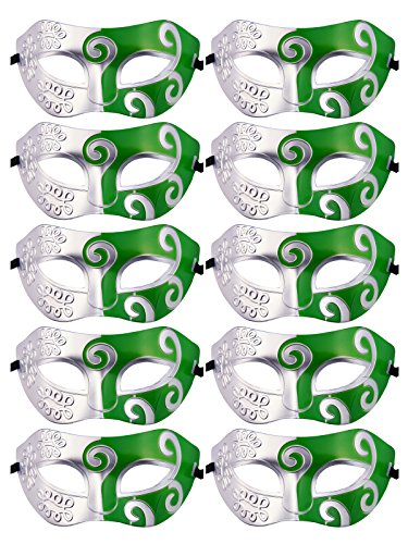 Mardi Gras Half Masquerades Venetian Masks Costumes Party Accessory