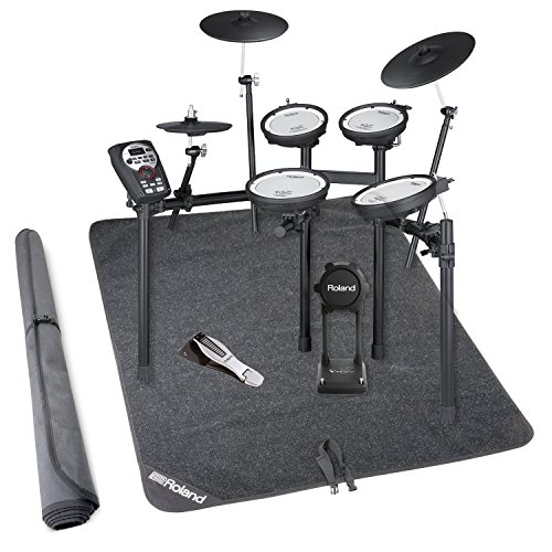 Mds 9 Stand (Roland TD-11KV-S V-Compact Series Electronic Drum Kit w/Stand and Non-Slip Drum Floor Mat)