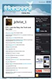 Theword Jesus Christ Twitter Art Poster Print 24 x 36in