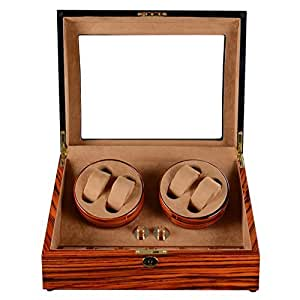 Amazon.com: Olymbros Special Design Wooden Watch Winder ...