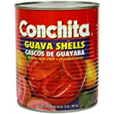 Conchita Guava Shells in Extra Heavy Syrup,32oz, Cascos.