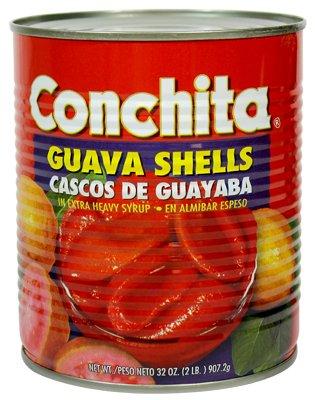 Conchita Guava Shells in Extra Heavy Syrup,32oz, Cascos de Guayaba en Alimibar Espeso