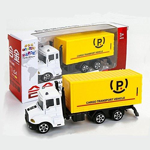 Ocamo Modelo de Simulación Mini Vehículo de Transporte de Aleación y Plástico,Juguete para Niños