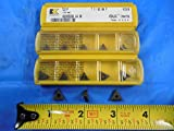 5 PCS New KENNAMETAL NT2L KC850 Carbide Threading Inserts TOP Notch Machine Tool
