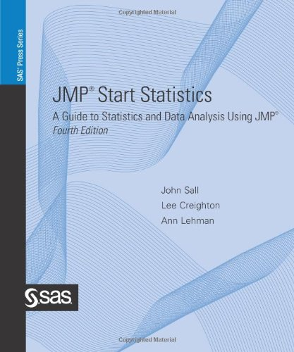 JMP Start Statistics: A Guide to Statistics and Data Analysis Using JMP, 4th Edition
