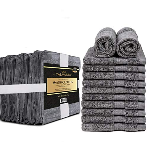 Talvania Cotton Washcloths
