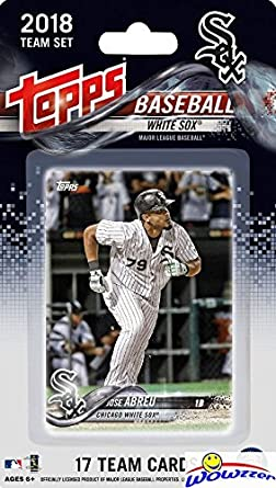 2 And Update Chicago White Sox Team Set 24 Cards 2018 Topps Series 1