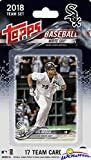 Chicago White Sox 2018 Topps Baseball EXCLUSIVE Special Limited Edition 17 Card Complete Team Set with Jose Abreu, Yoan Moncada & Many More Stars & Rookies! Shipped in Bubble Mailer! WOWZZER!