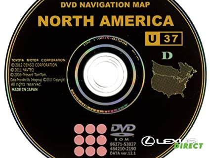 lexus is350 navigation disc