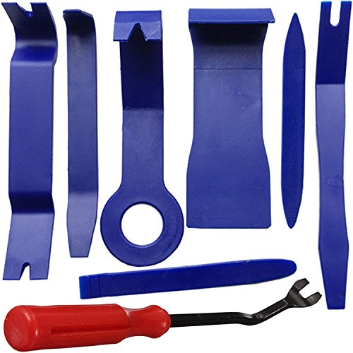 Atop Value Auto Trim Removal Tool Kit Steel Fastener