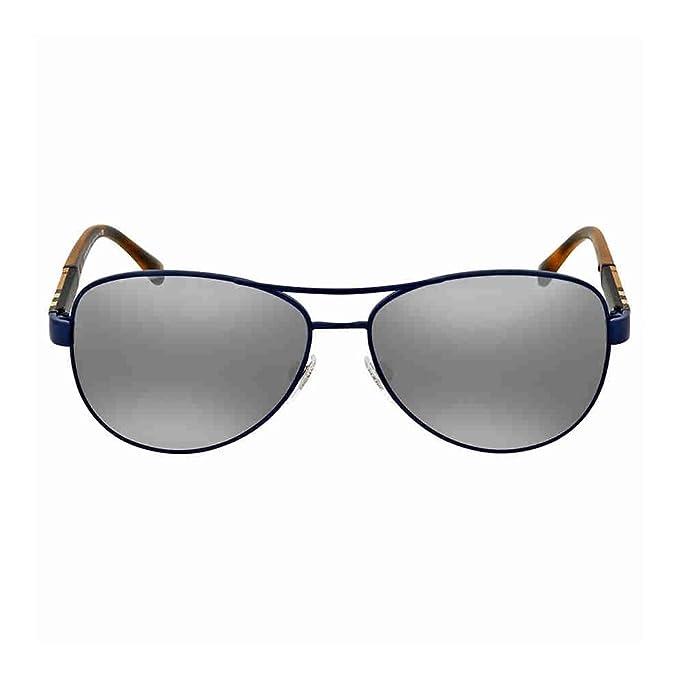 792548a66a237 Burberry Matte Blue Aviator Sunglasses  Amazon.ca  Clothing   Accessories
