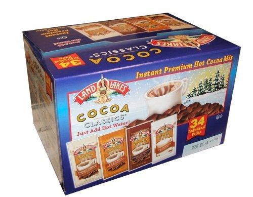 Land O Lakes Cocoa Classics Instant Premium Hot Cocoa Mix - 34 Packs
