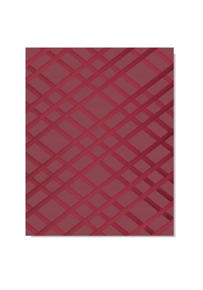 Frame-For-All Bulletin-Memo Board: Burgundy (Medium (24'' x 18''))