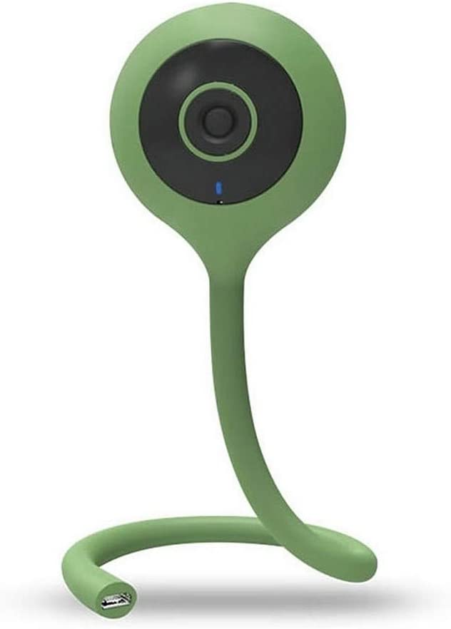 Motion Detection /& Infrared Night Vision Travel Video Camera Two-Way Talk with Flexi-Tail and Mobile Phone APP Control Baby Monitor Spy Security Camera 720P HD Wi-Fi Mini IP Camera Video in Green