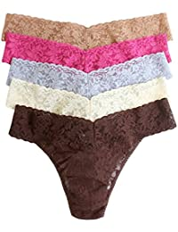 Hanky Panky Womens Low Rise Thongs 5 Pack