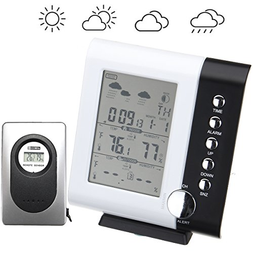 LCD Display Wireless Weather Station Digital