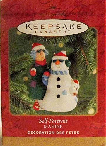 Self-Portrait Maxine 2000 Hallmark Keepsake Ornament QX6644 - Amazon.com: Self-Portrait Maxine 2000 Hallmark Keepsake Ornament
