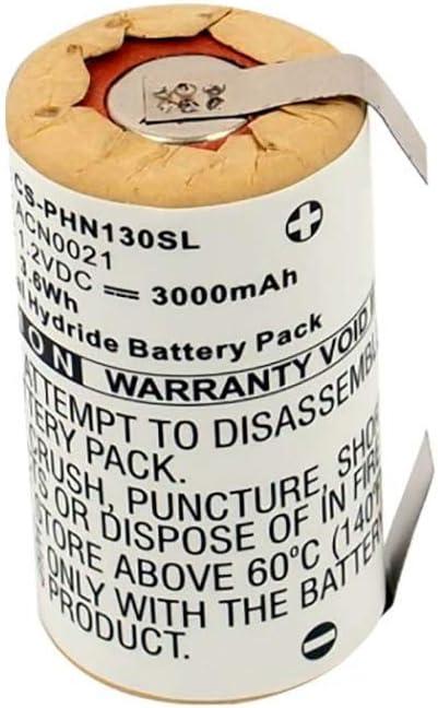 Shaver Battery - Batería para afeitadora Philips HP1304, HP1308 ...